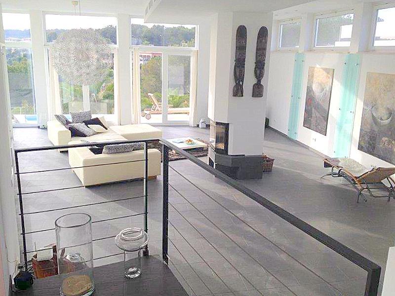 Moderne Designervilla zu vermieten in Sol de Mallorca