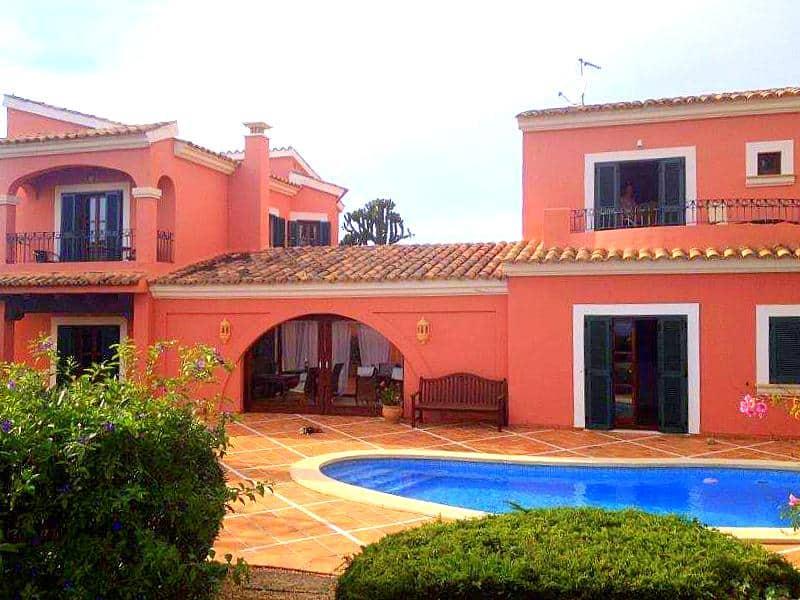 Meerblick Villa mit Gästehaus in Costa d'en Blanes