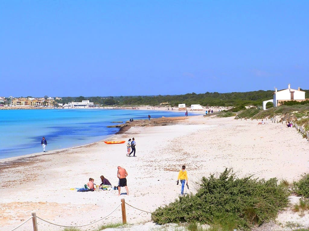 Mallorca Mietwohnung direkt am Strand